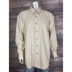 Ariat Plaid Western Shirt L/S Cotton Blend